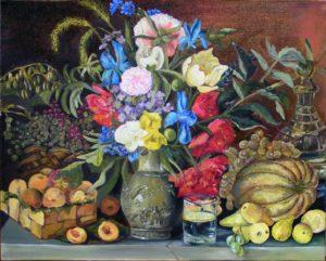 Картина Хруцкого «Цветы и плоды»