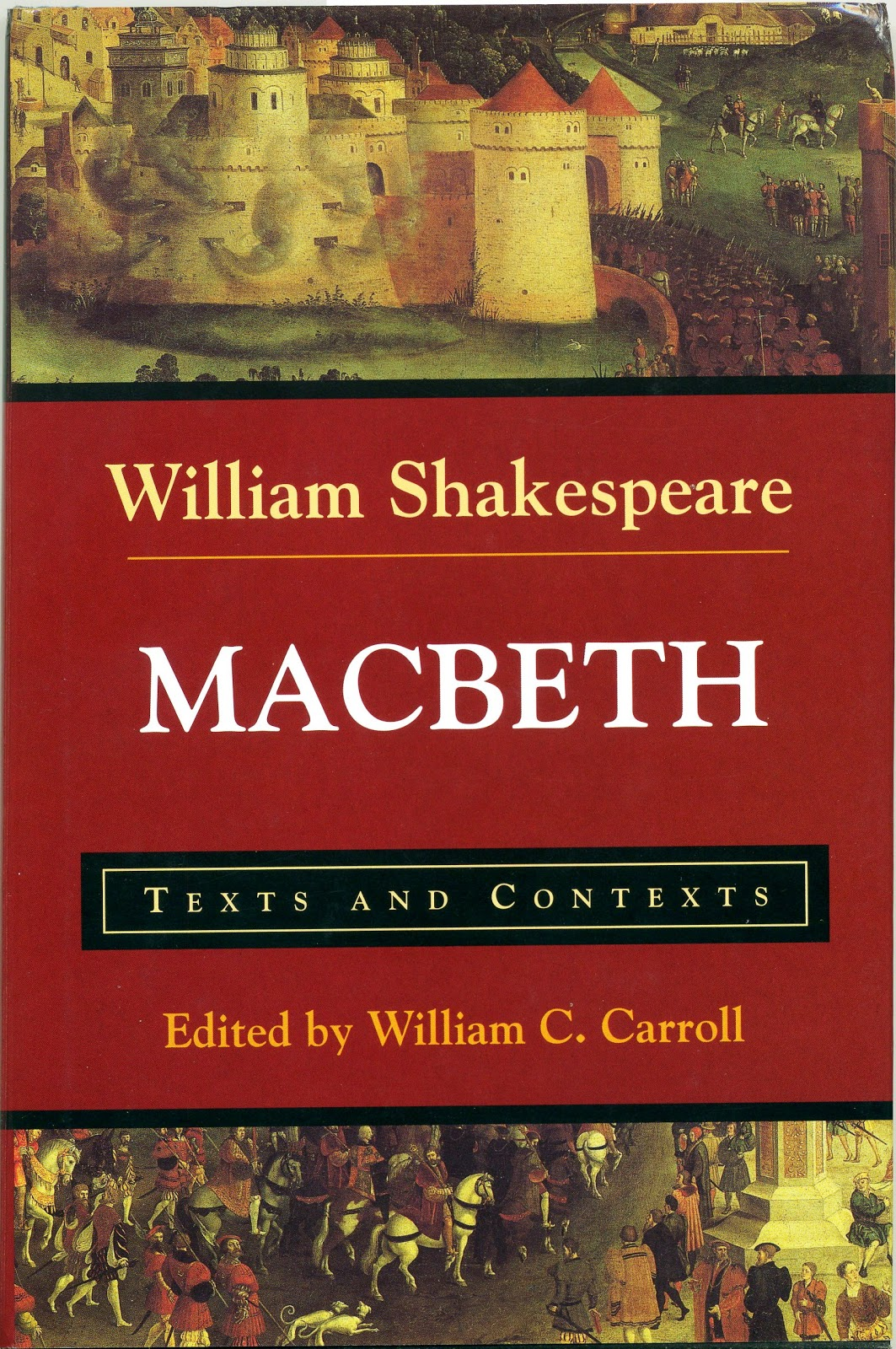 an analysis of the presence of god and the devil in macbeth by william shakespeare Shakespeare got his idea for macbeth from raphael holinshed's chronicles, which tells a different tale using similar characters and references to husband-wife relationships, murder other commonly occurring words that help maintain the mood of the play are terrible, horrible, black, devil, and evil.